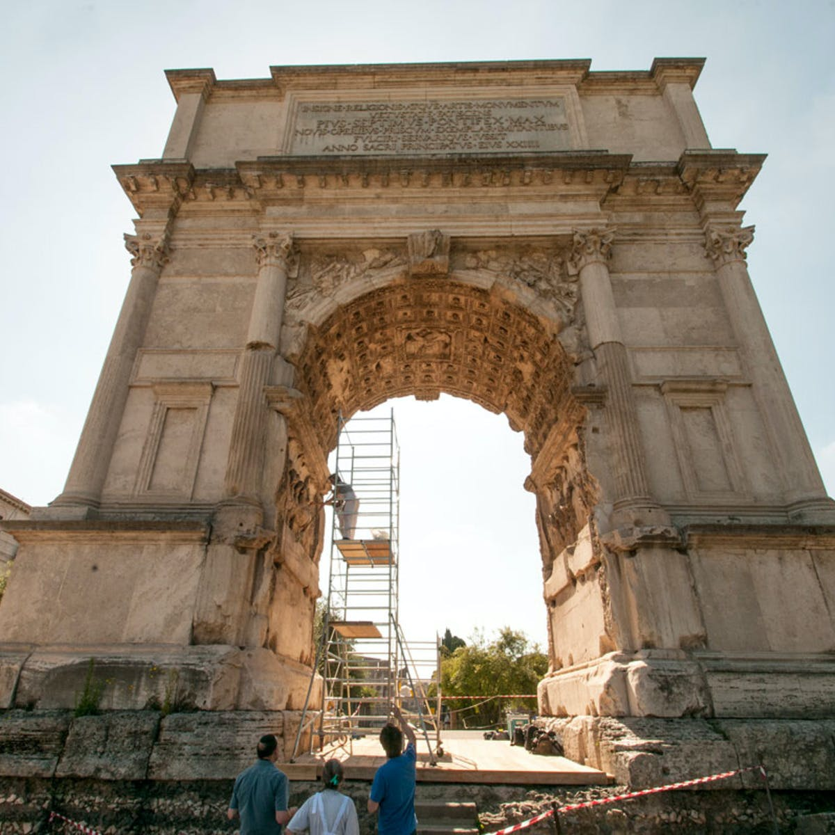 Arch of Titus: Rome and the Menorah