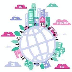 Digital transformation of megapolises  7 1 003