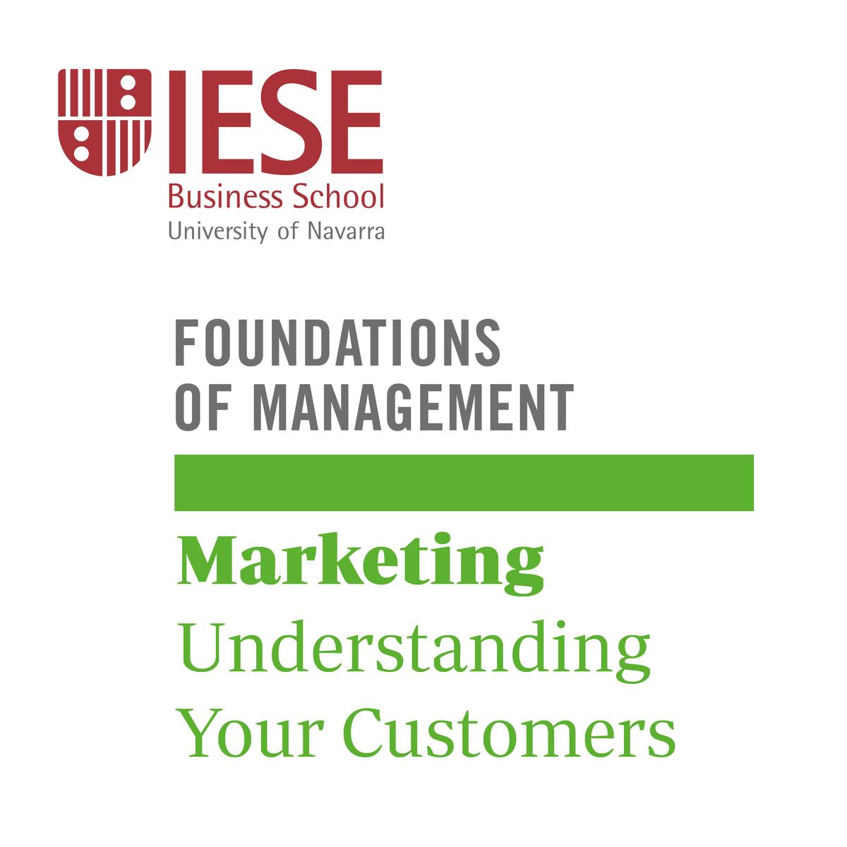 Marketing: Understanding Your Customers