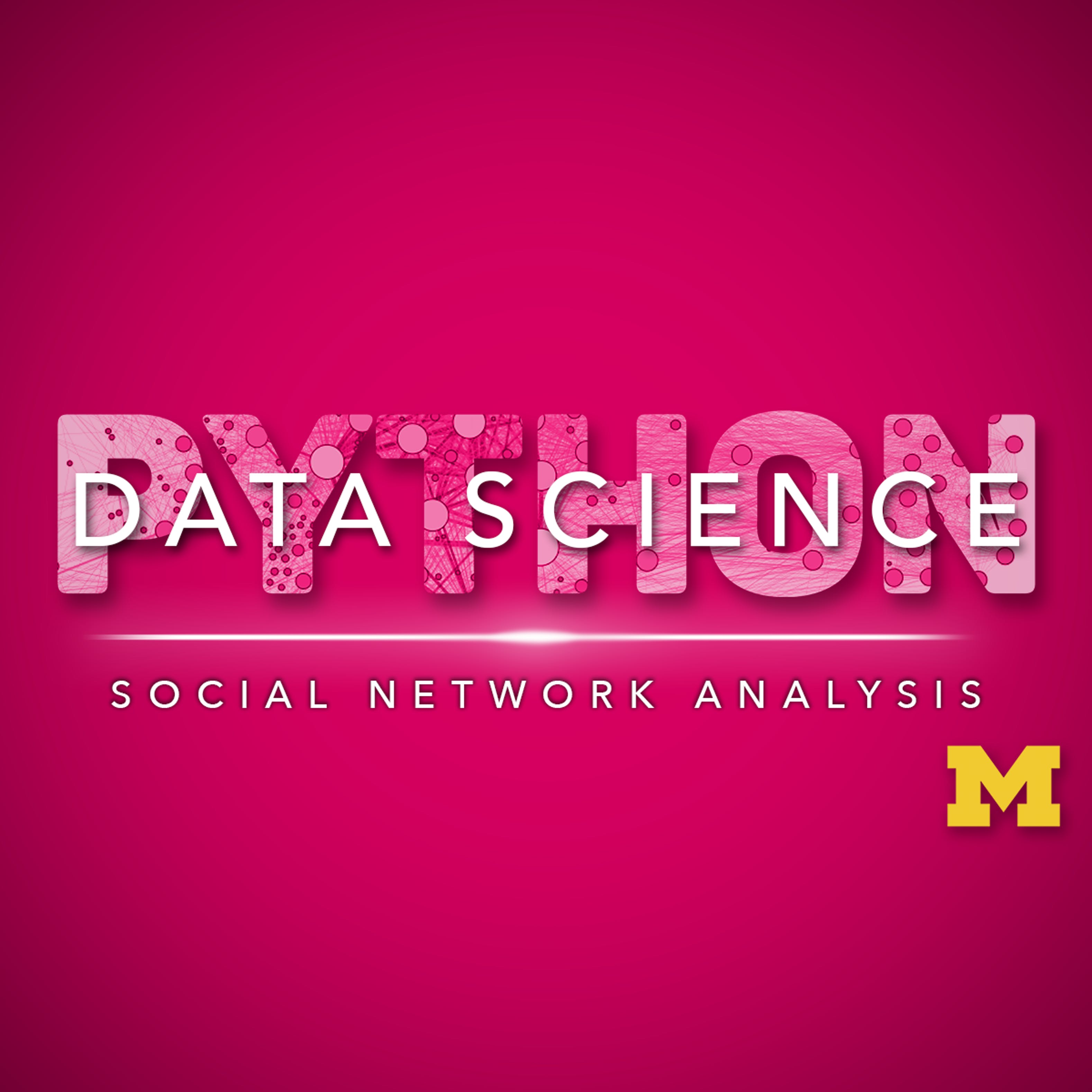 Applied Social Network Analysis in Python | Coursera