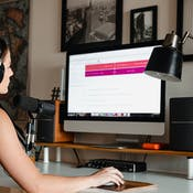 Create video, audio and infographics for online learning