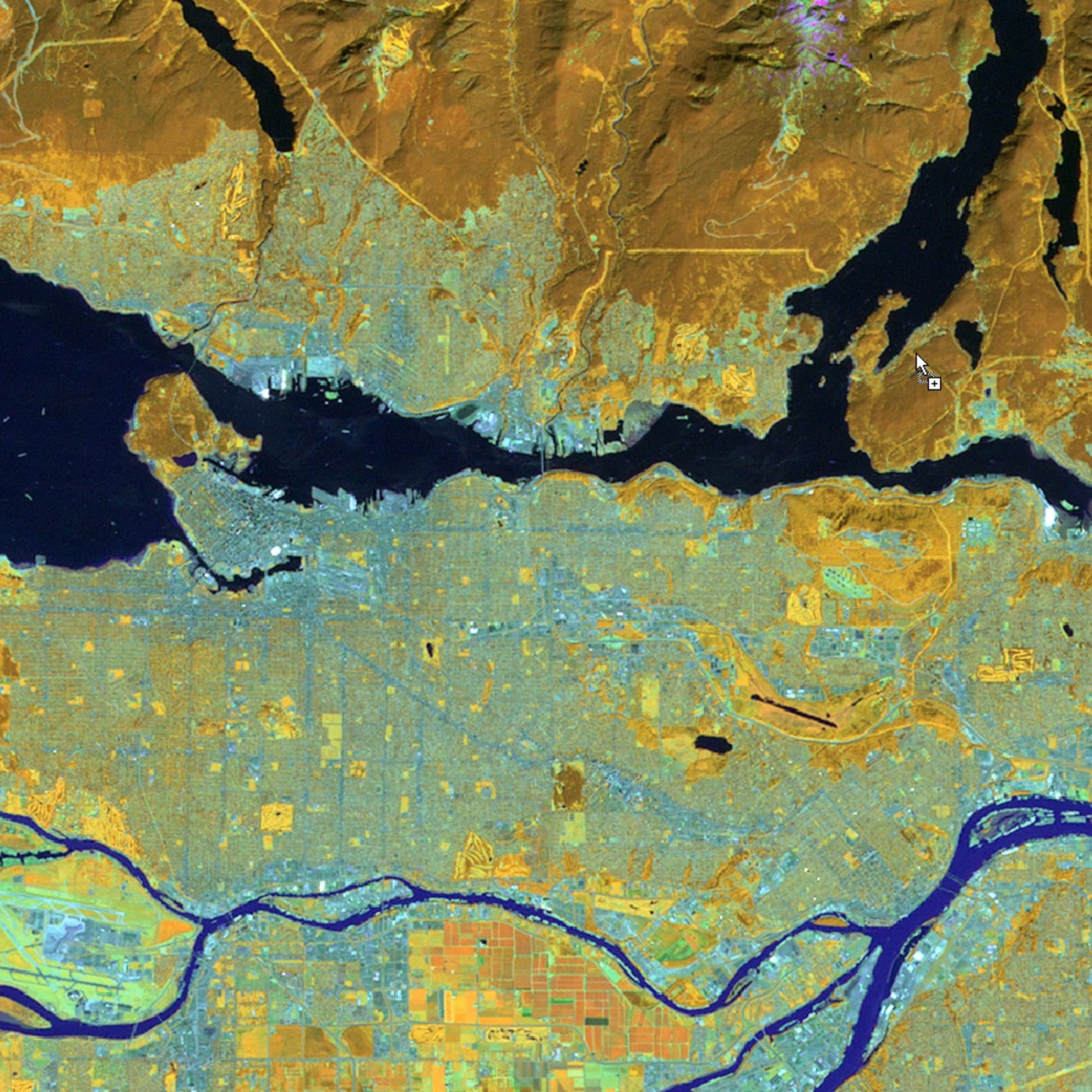 Spatial Analysis and Satellite Imagery in a GIS   Coursera