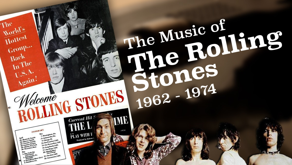 The Music of the Rolling Stones, 1962-1974