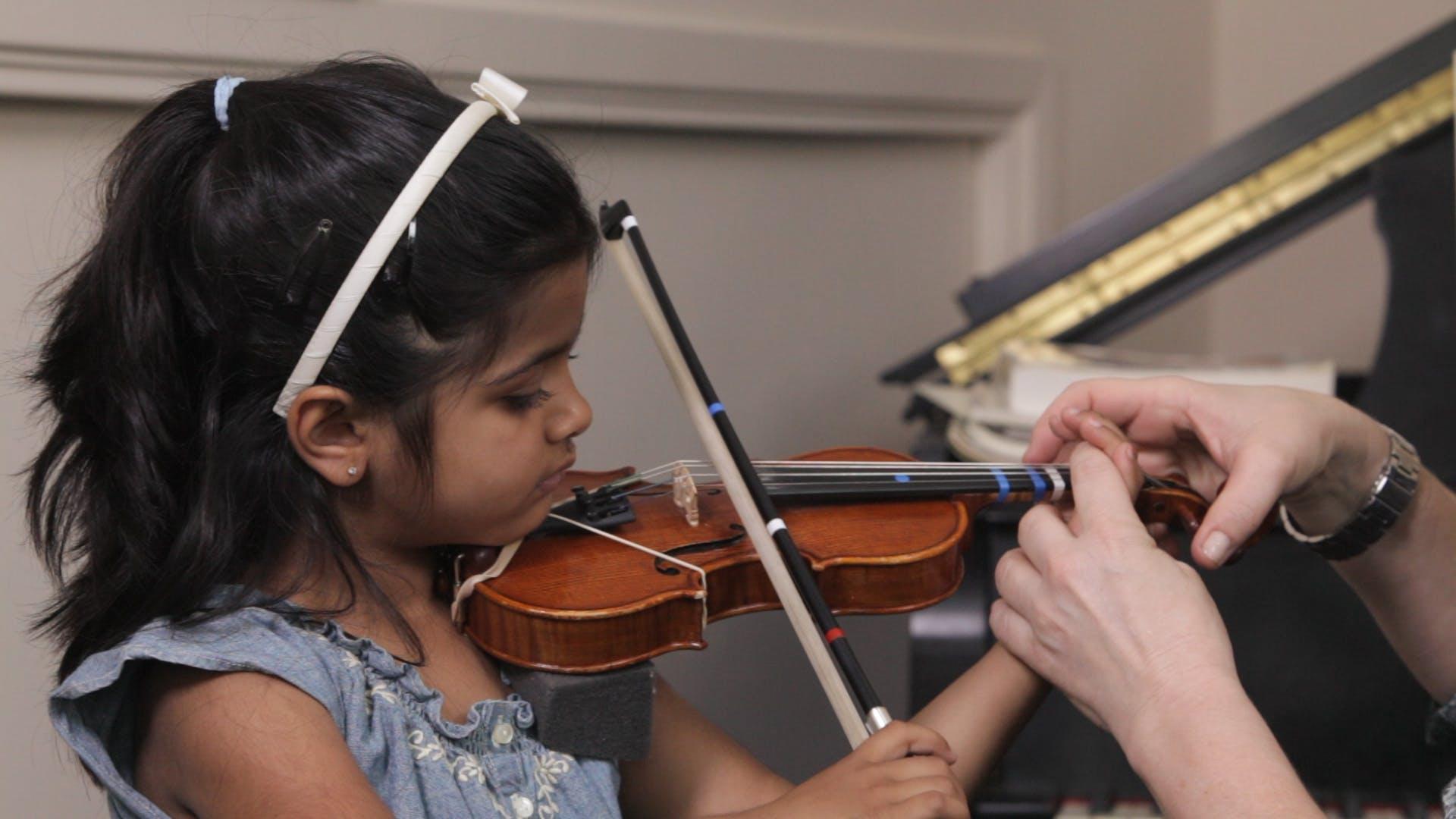 Ensino de violino e viola: criando bases sólidas