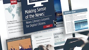 Making Sense of the News: News Literacy Lessons for Digital Citizens