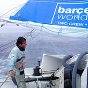 Strategies for winning. Meteorology in a round the world regatta