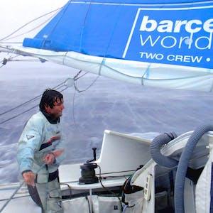 Strategies for winning. Meteorology in a round the world regatta