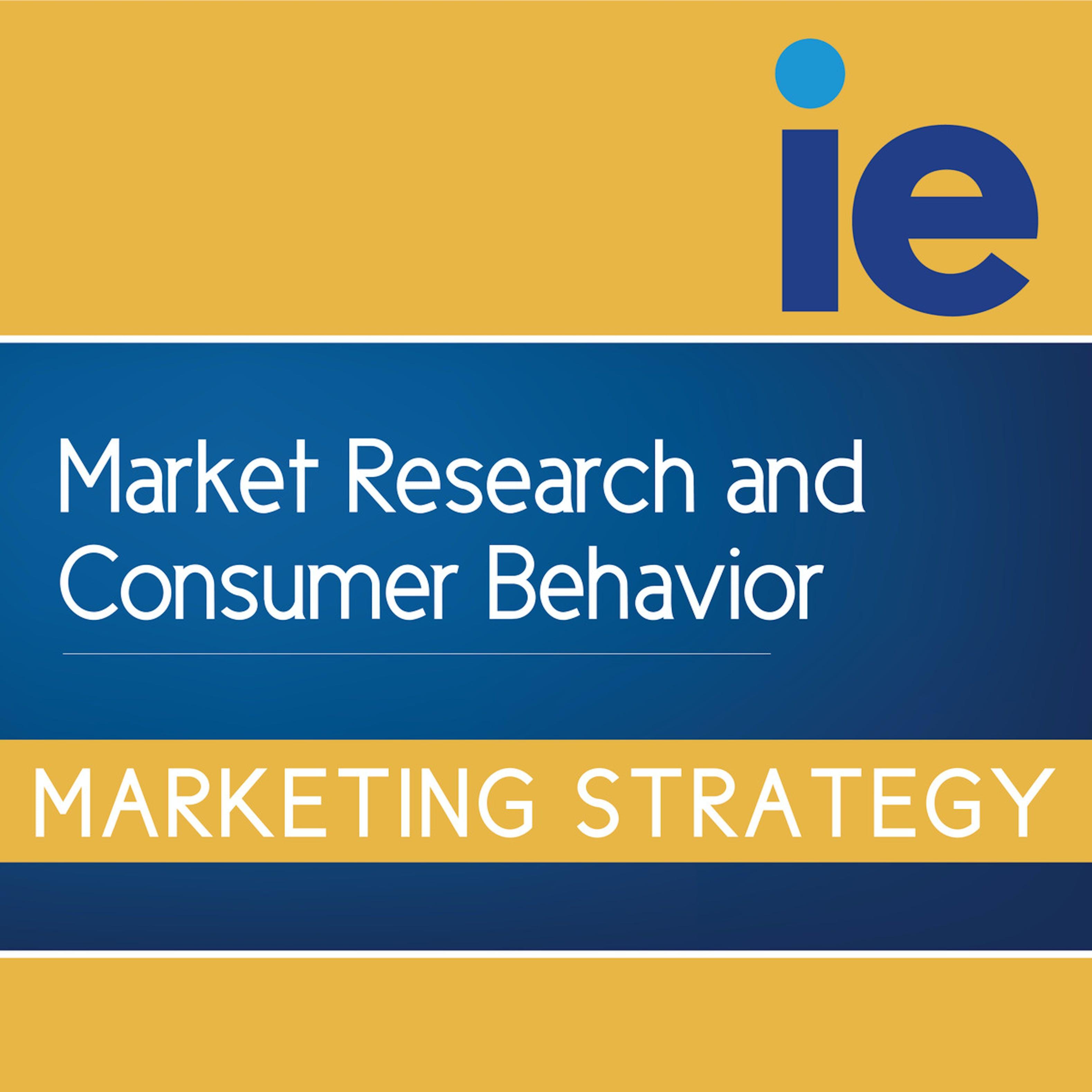 Market Research And Consumer Behavior Coursera