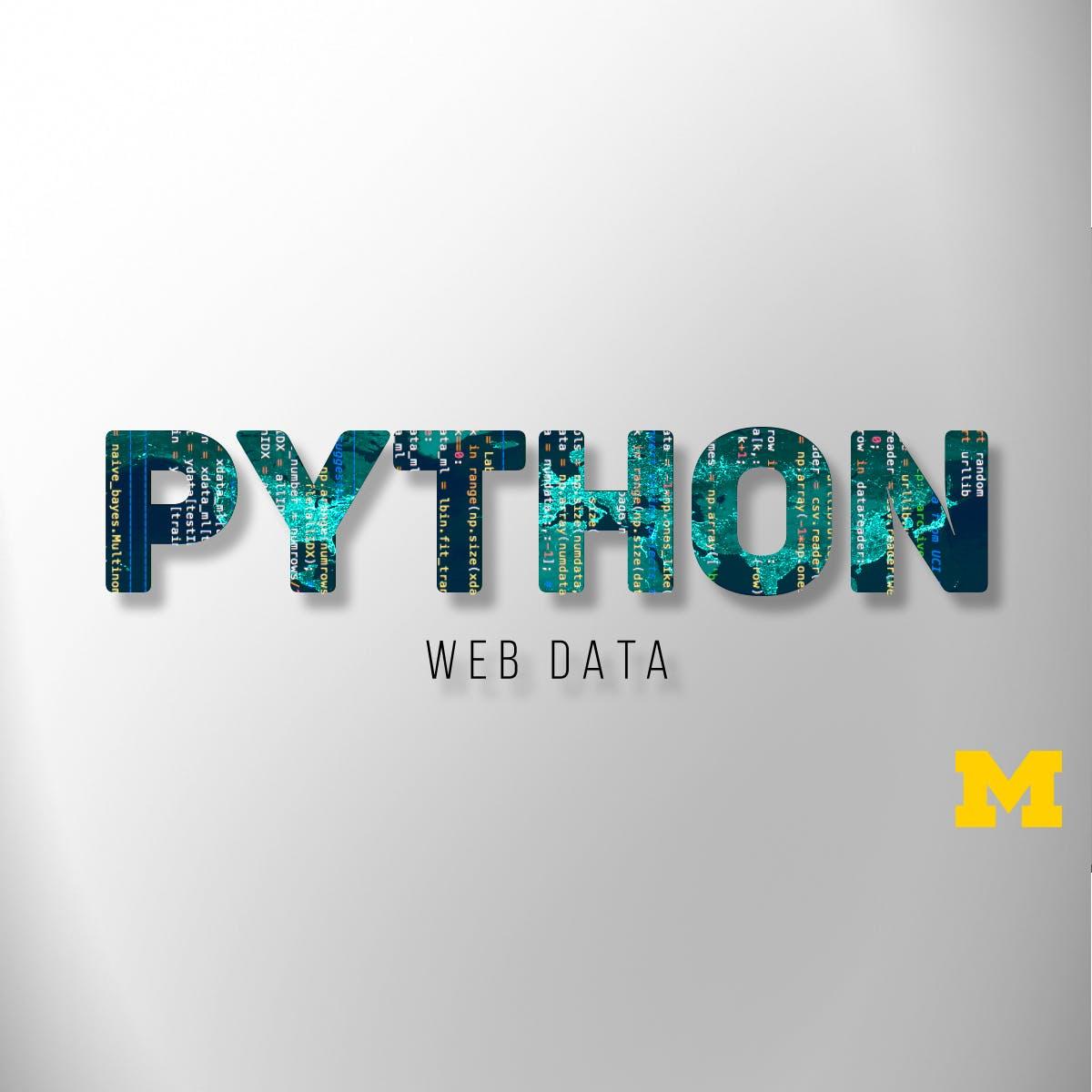 Usando o Python para acessar dados naweb