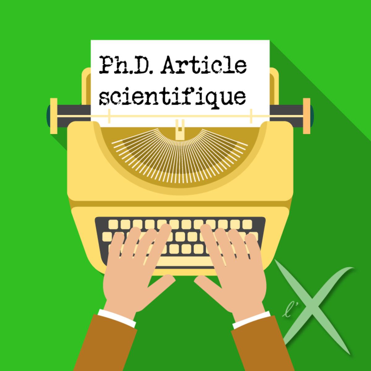 comment r u00e9diger et publier un article scientifique  enseignement par projet