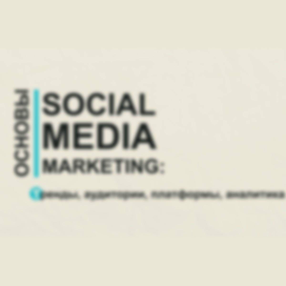 Основы SMM: тренды, аудитории, платформы, аналитика