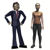 Building Interactive 3D Characters and Social VR