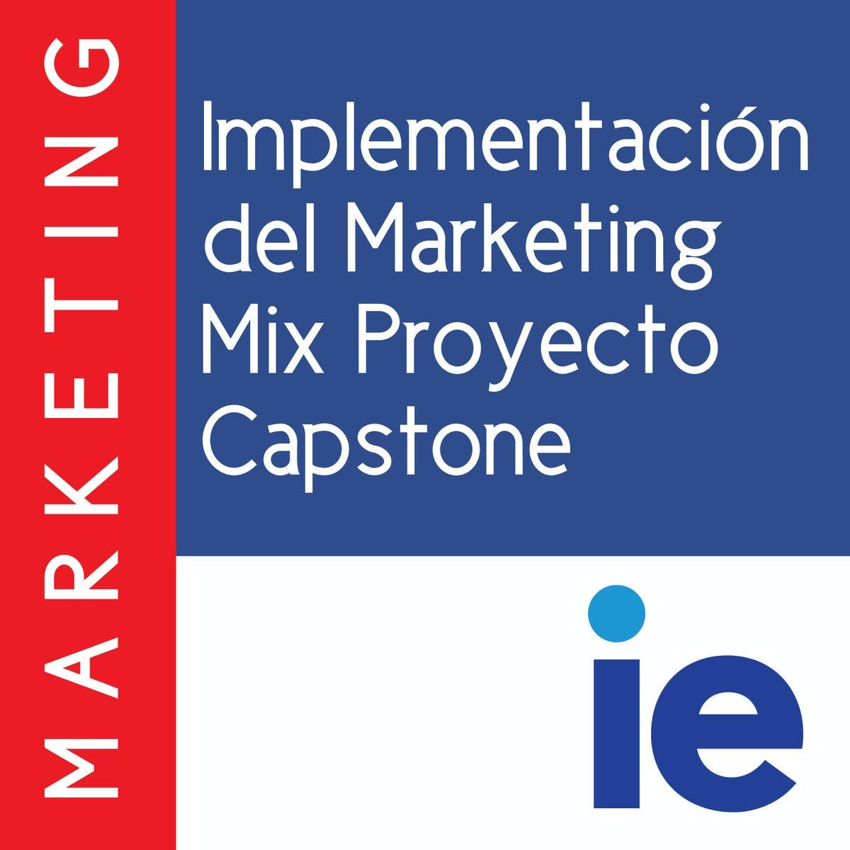 Implementación del Marketing Mix Proyecto Capstone   Coursera