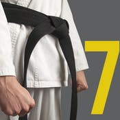 The Control Phase for the 6 σ Black Belt