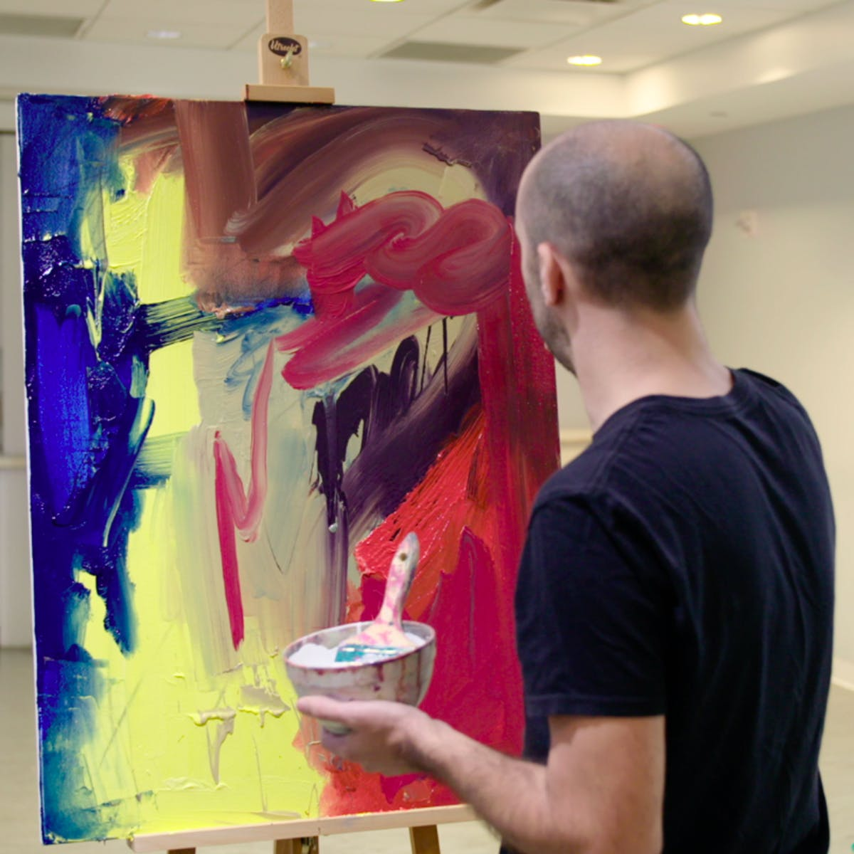 In the Studio: Postwar Abstract Painting | Coursera
