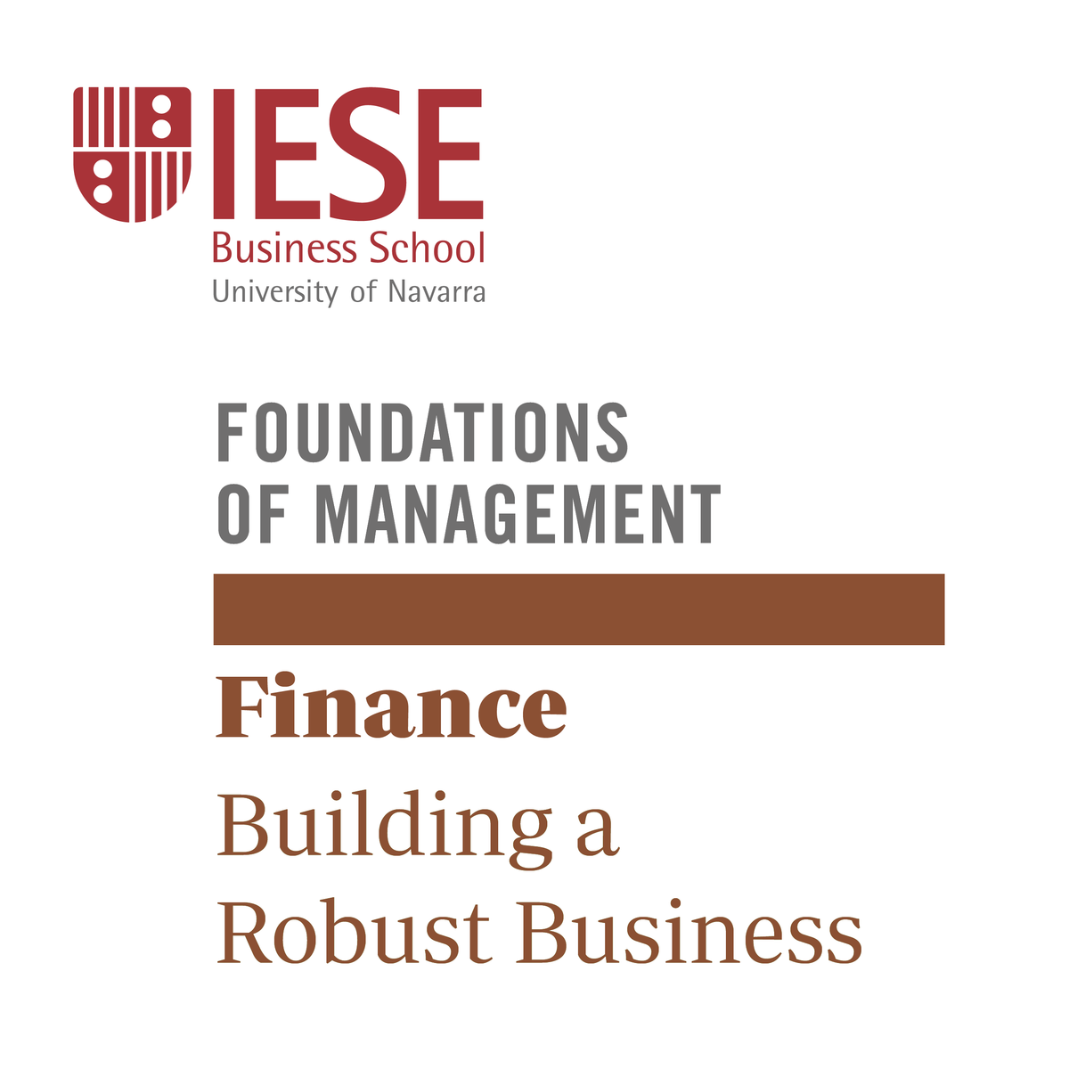 Finance: Building a Robust Business