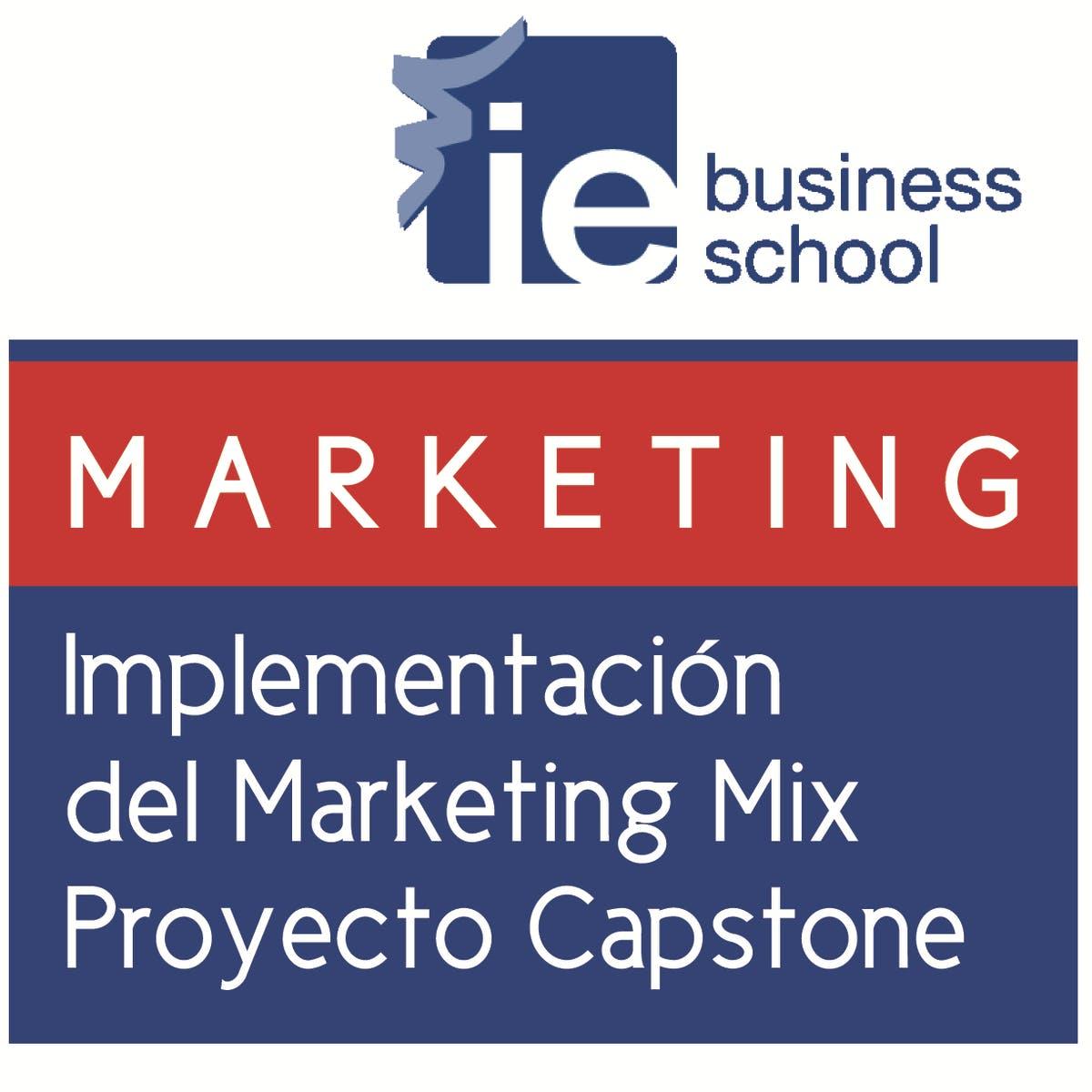 Implementación del Marketing Mix Proyecto Capstone