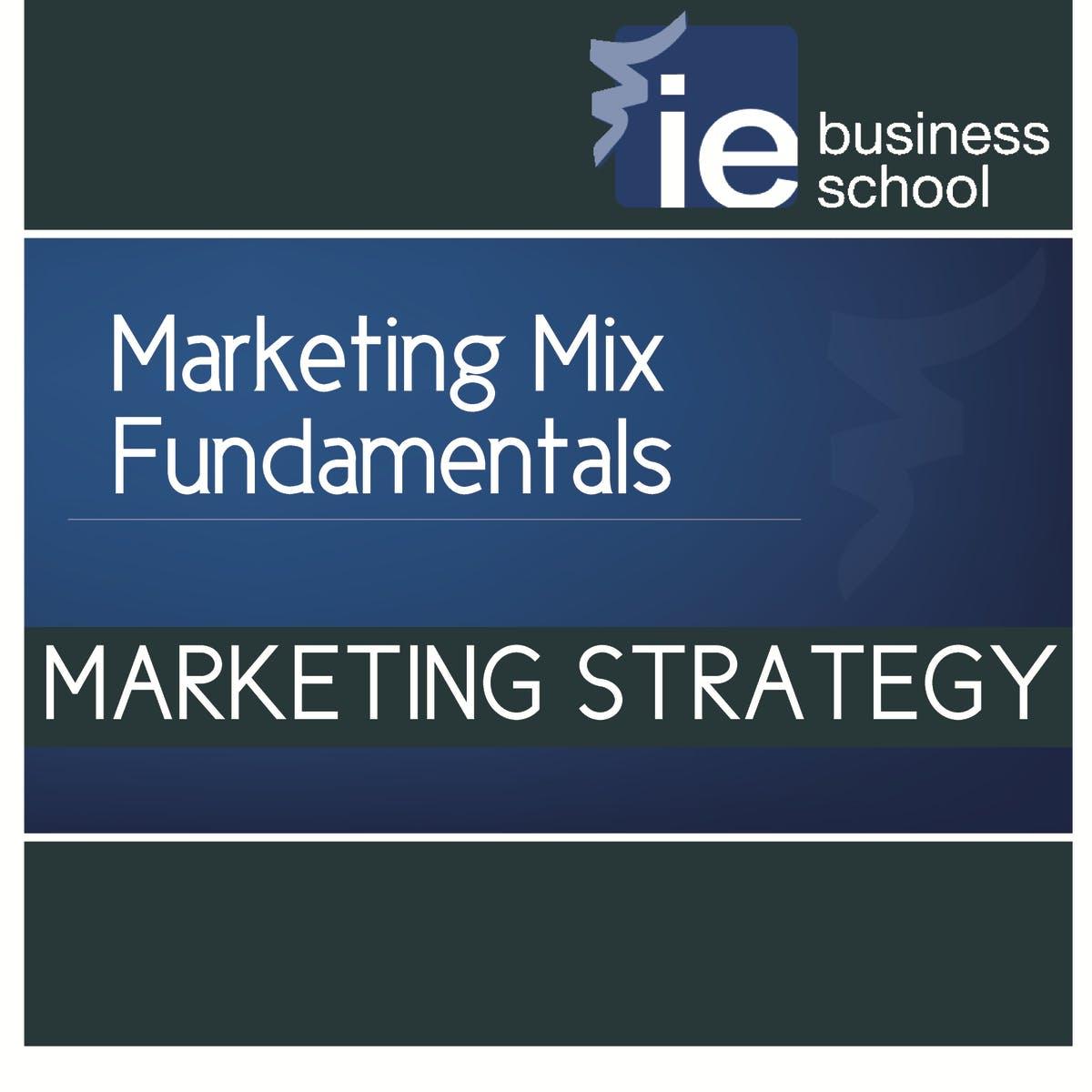 Marketing Mix Fundamentals