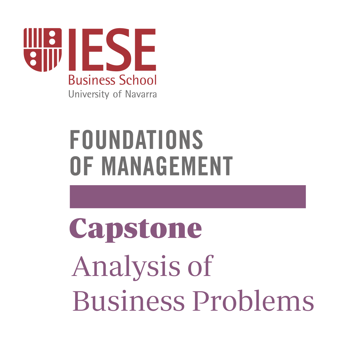 Analysis of Business Problems: Capstone