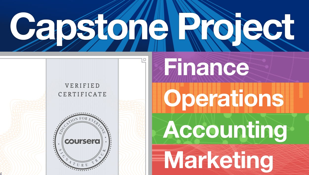 Wharton Business Foundations Capstone