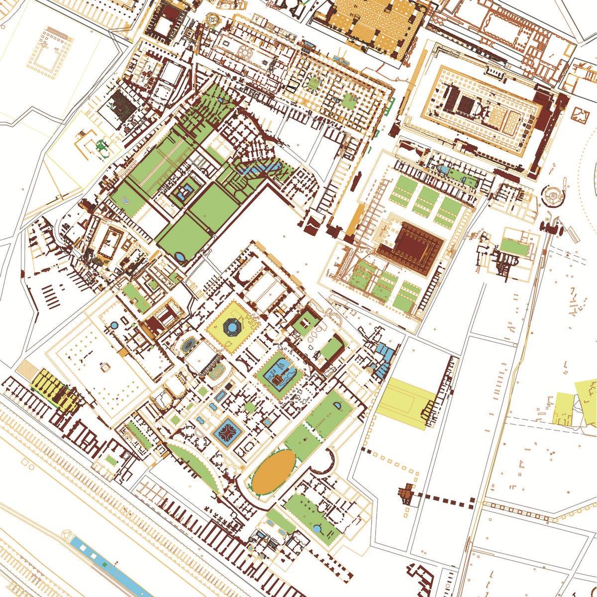 Studio Architettura Paesaggio Milano paesaggi di roma antica. archeologia e storia del palatino