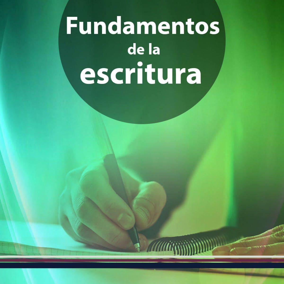 Fundamentos de la escritura