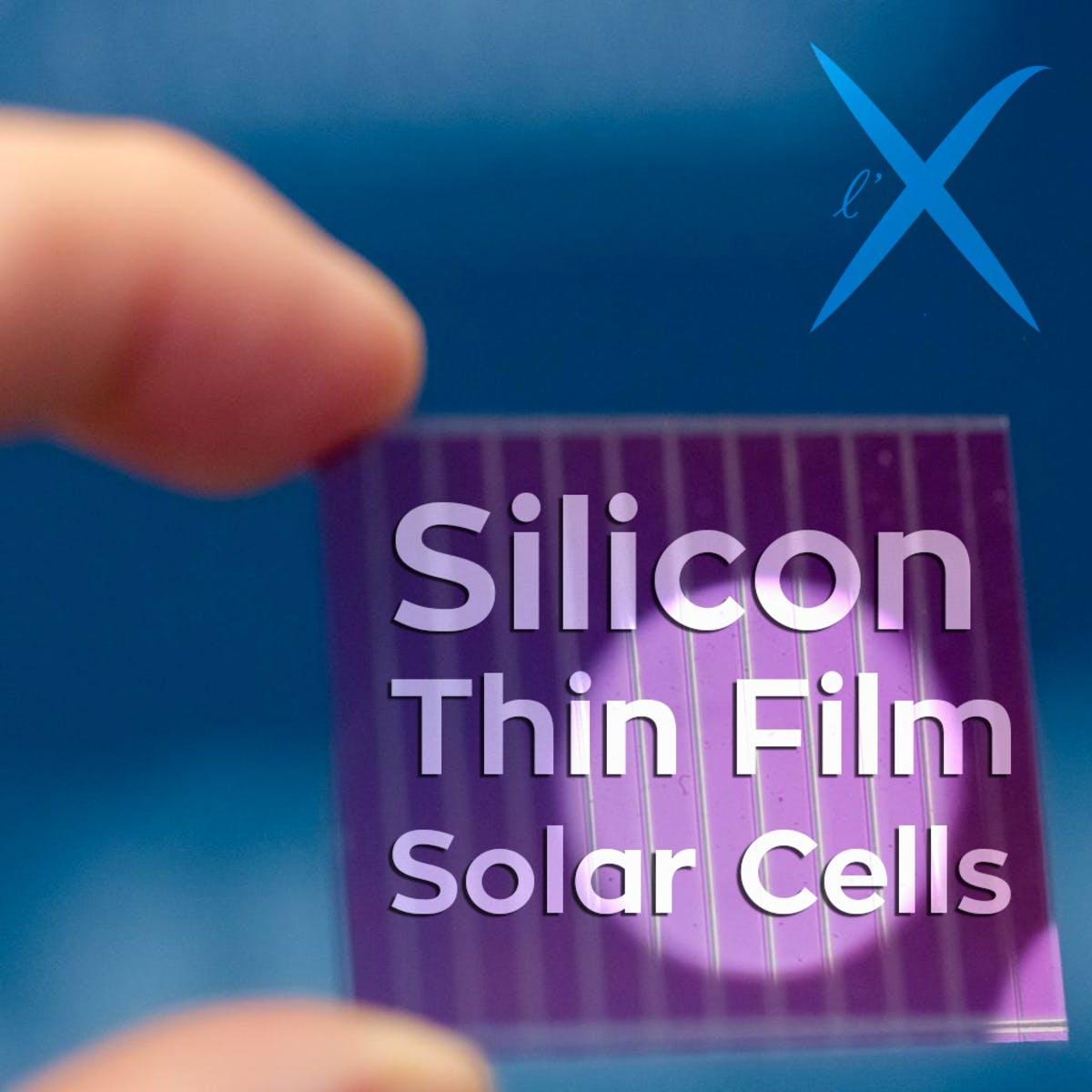Silicon Thin Film Solar Cells Coursera
