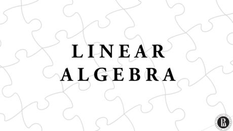 Линейная алгебра (Linear Algebra)
