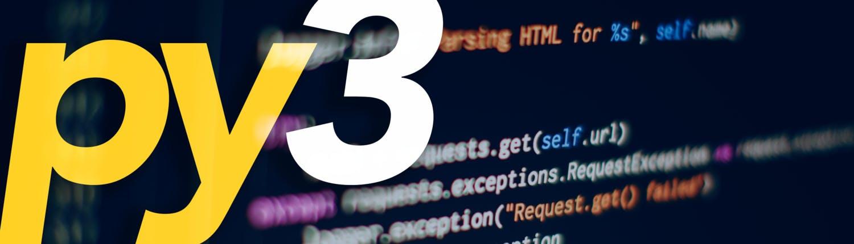 Python 3 Programming