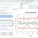 RStudio for Six Sigma - Control Charts by Coursera Project Network
