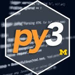 Data Collection and Processing with Python by University of Michigan