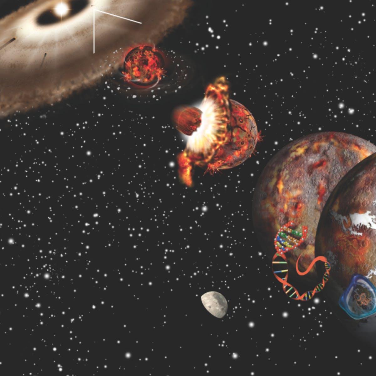 Origens da Vida no Contexto Cósmico