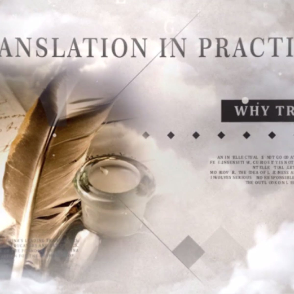 Translation in Practice