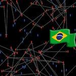 Modelo de Disseminação de Vírus com NetLogo by Coursera Project Network