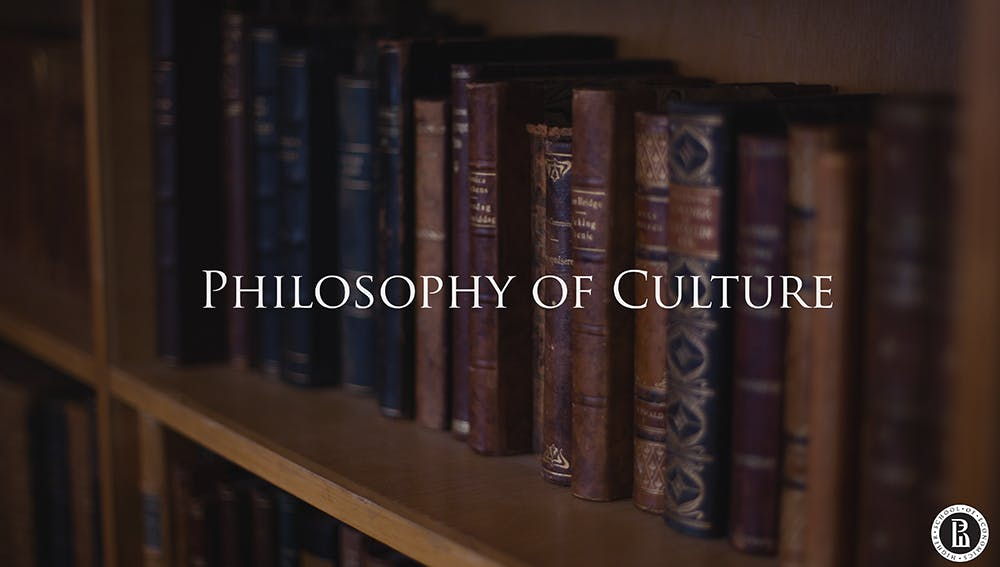 Философия культуры (Philosophy of Culture)