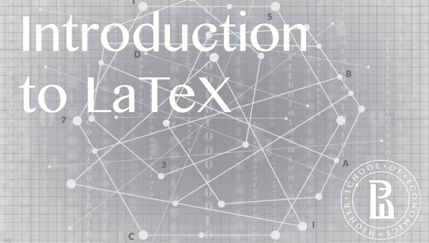 Документы и презентации в LaTeX (Introduction to LaTeX)