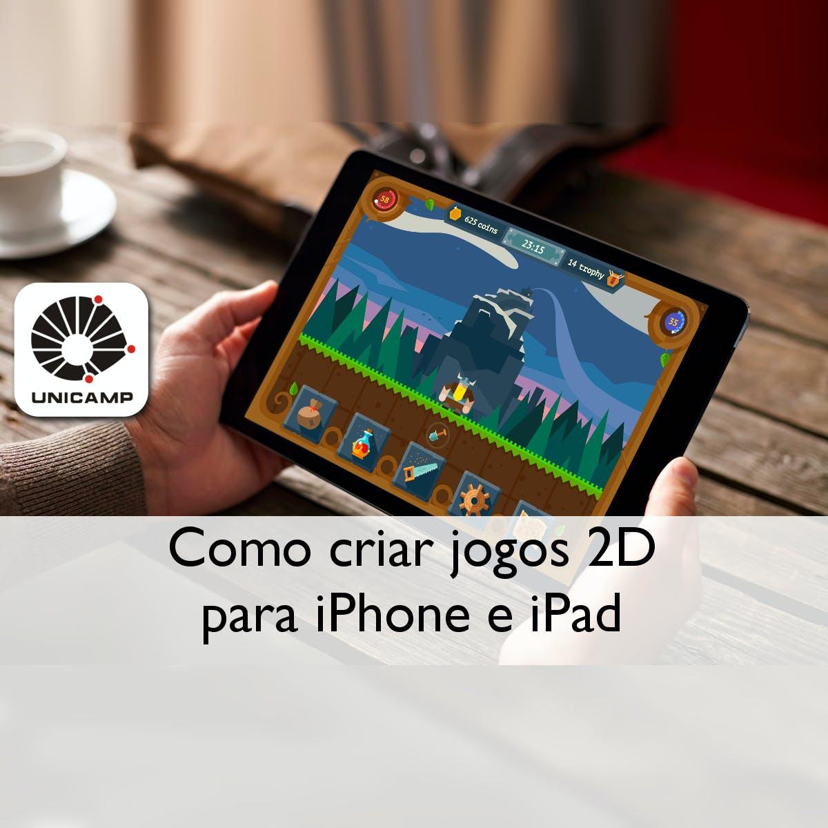 Como criar jogos 2D para iPhone e iPad