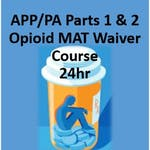 Advanced Practice Provider/Physician Assistant: Opioid Use Disorder Medication Assisted Treatment Waiver Training (24hr) by University of Virginia