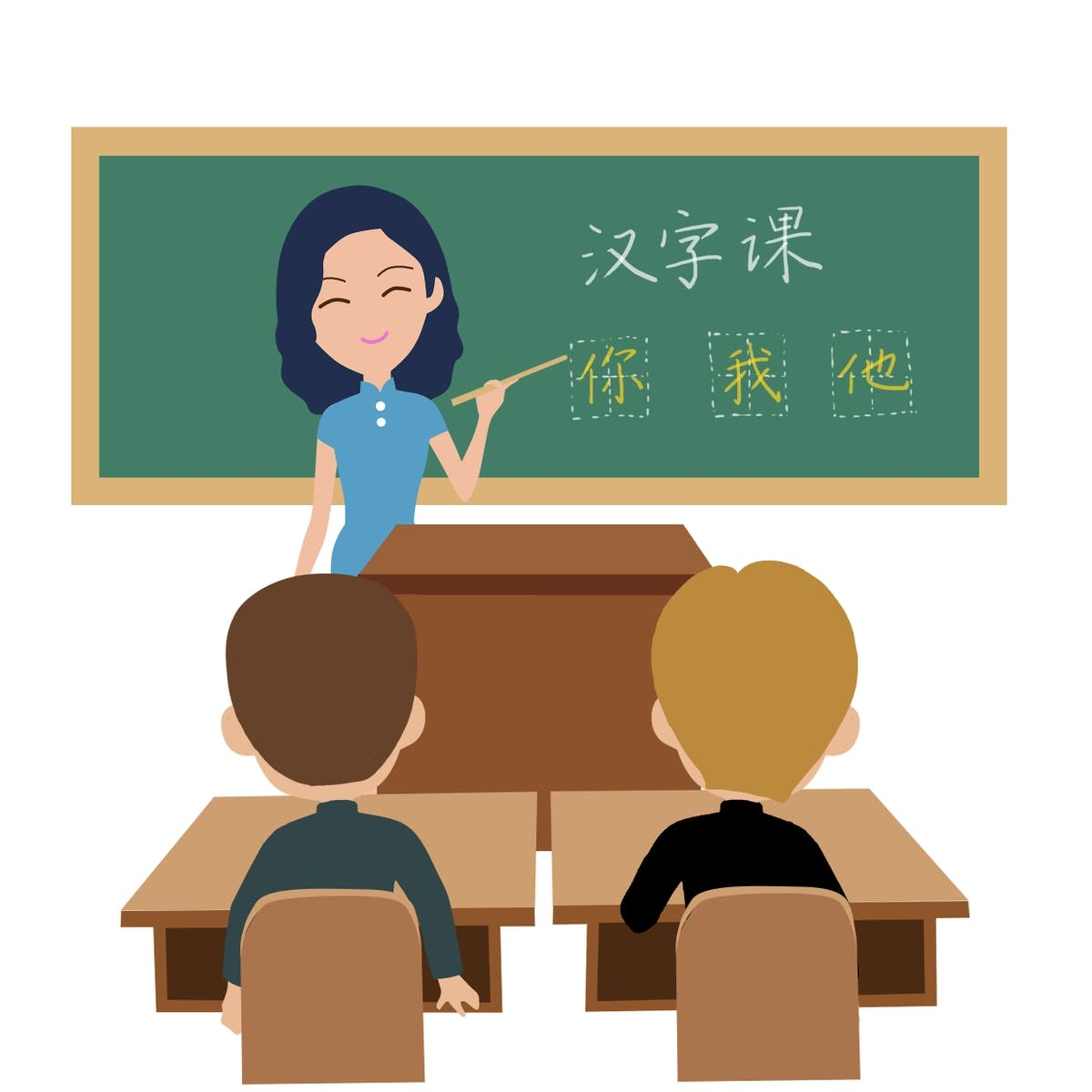Chinese Characters for beginner (2)    汉字(2)