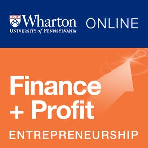 Entrepreneurship 4: Financing and Profitability