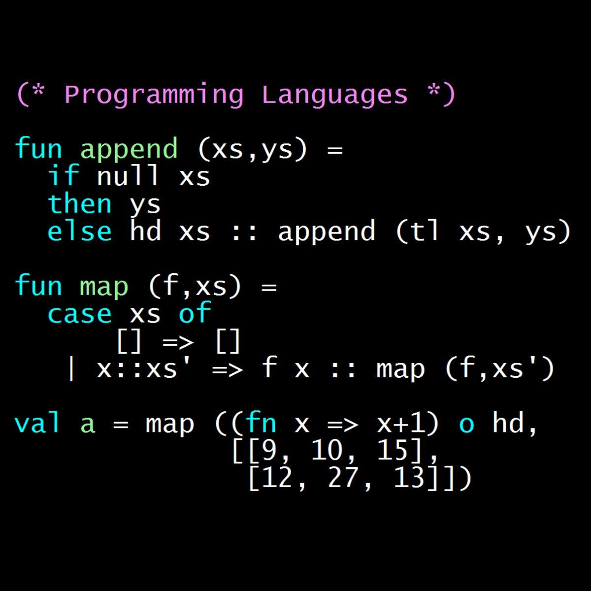 Programming Languages, Part A