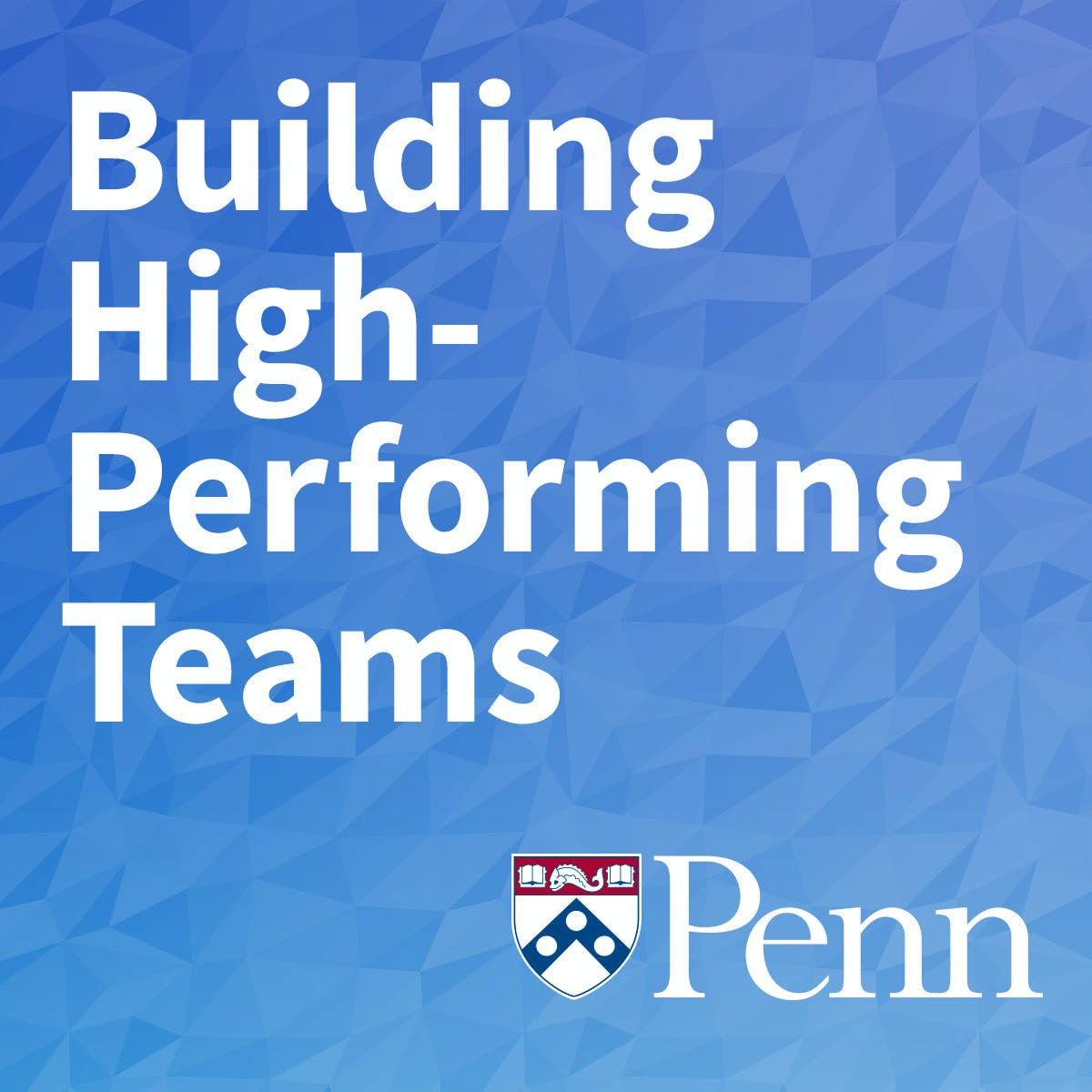 Building High-Performing Teams