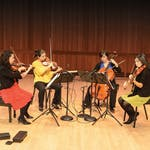The World of the String Quartet by Curtis Institute of Music
