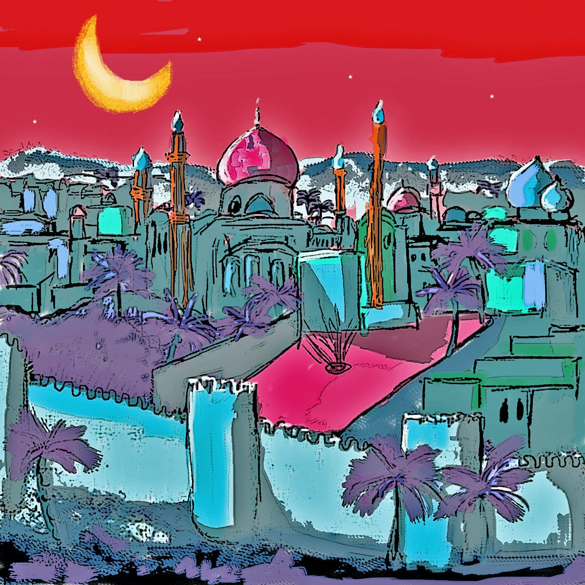 The Cosmopolitan Medieval Arabic World