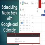 Scheduling Made Easy with Google and Calendly by Coursera Project Network