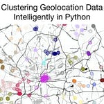 Project: Clustering Geolocation Data Intelligently in Python by Rhyme