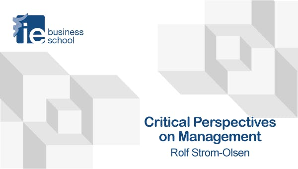 Critical Perspectives on Management